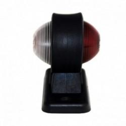 Feu latéral rouge / blanc 45x90 mm