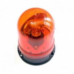 Gyrophare 12V - 55W fixation base plate à visser