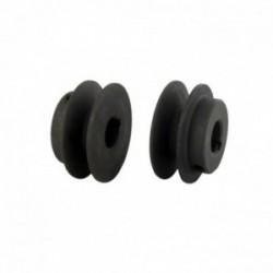 Poulie clavetée - diamètre extérieur 50,8 mm - diamètre int 15,88 mm