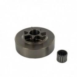Pignon étoile 404 - 7 dents pour tronçonneuse DOLMAR CA122 - 122SL - 123 - 133 - PS9000 -PS9010 - 143 - CA113 - PS6000 - PS6800