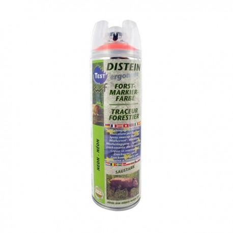 Traceur forestier fluo orange - Aérosol 500 ml