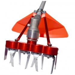Système 4 fraises contre-rotatives universel. Largeur de travail 200mm