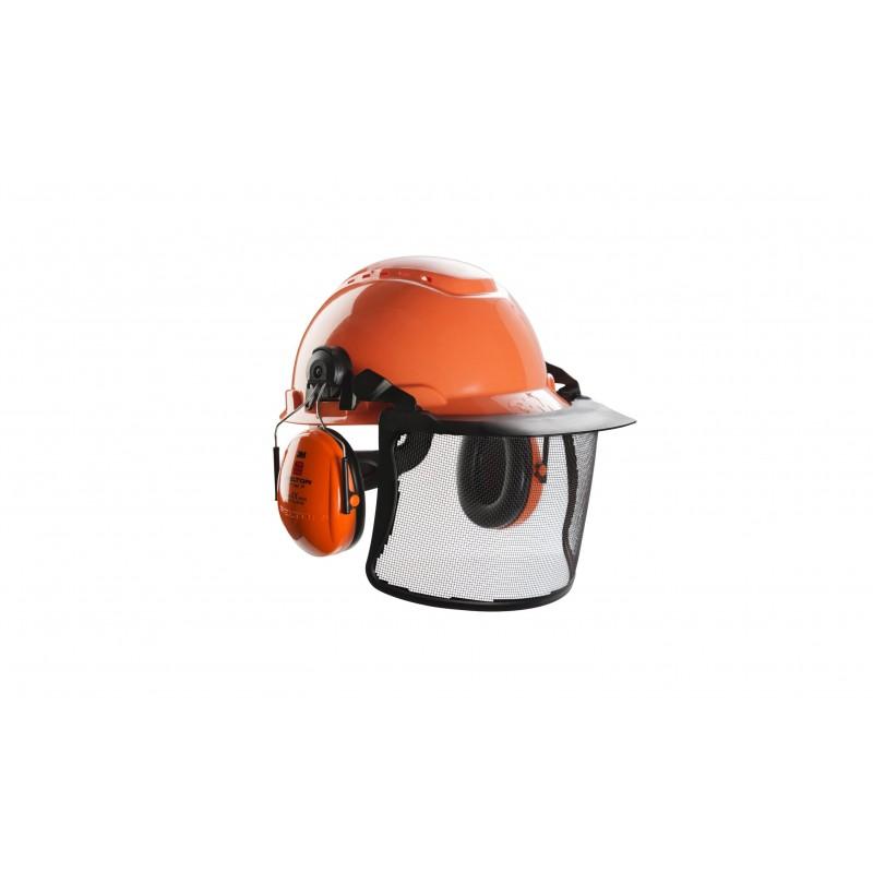 pack forestier 3m peltor avec casque anti bruit visi re. Black Bedroom Furniture Sets. Home Design Ideas