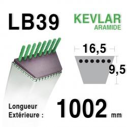 Courroie 16.5mm x 1002mm - LB39