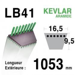 Courroie 16.5mm x 1053mm - LB41