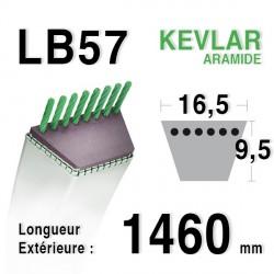 Courroie 16.5mm x 1460mm - LB57