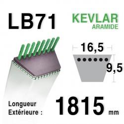 Courroie 16.5mm x 1815mm - LB71