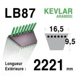 Courroie 16.5mm x 2221mm - LB87
