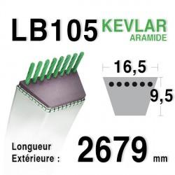 Courroie 16.5mm x 2679mm - LB105
