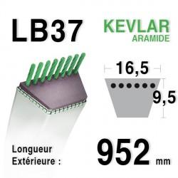 Courroie 16.5mm x 952mm - LB37
