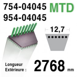 Courroie MTD 754-04045 - 954-04045 - 75404045 - 95404045