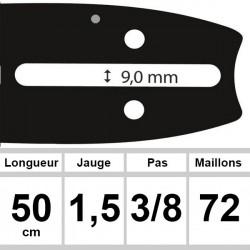 Guide OZAKI 50 cm 3/8 1.5mm