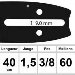 Guide Poulan - Ozaki coupe 40 cm