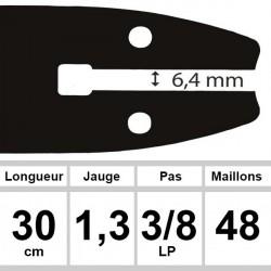 Guide Sabre - Ozaki coupe 30 cm
