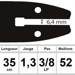 Guide Sabre - Ozaki coupe 35 cm